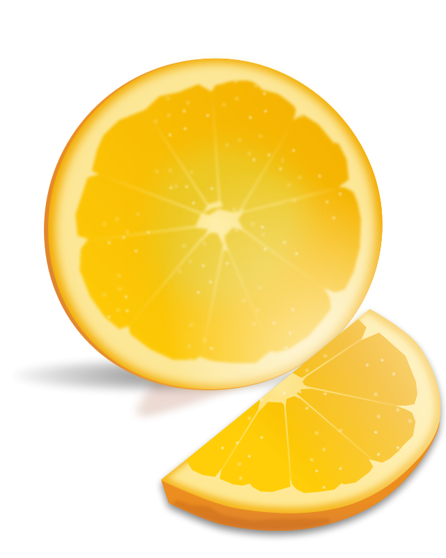free vector Orange Slice
