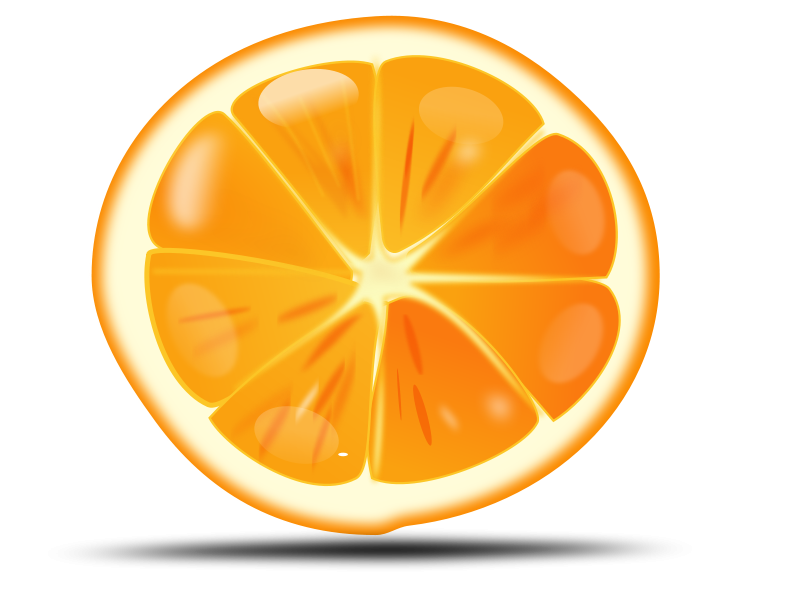 orange slice free vector   4vector Simply Orange Logo Simply Orange Logo