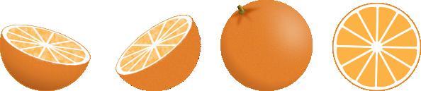 free vector Oranges clip art