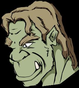 free vector Orc clip art