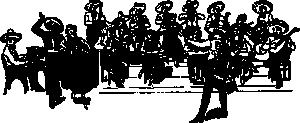 free vector Orchestra Tipica clip art