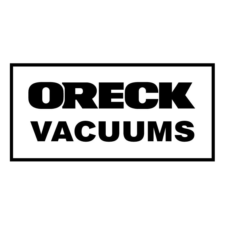 free vector Oreck vacuums