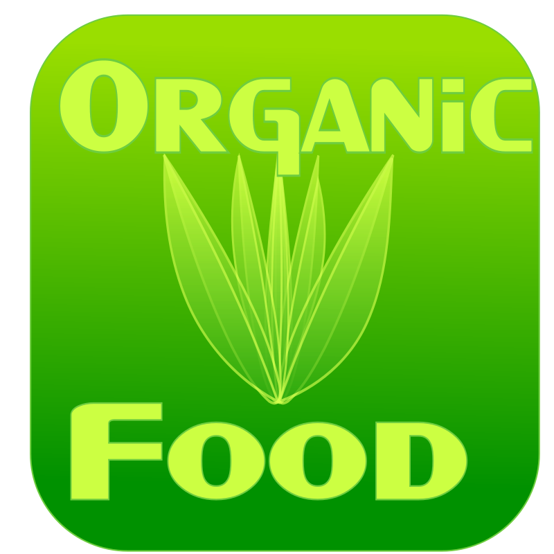 free vector Organic food label