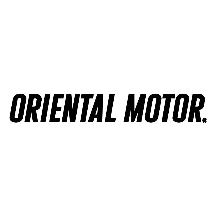free vector Oriental motor