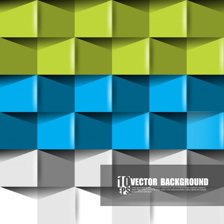 free vector Origami background vector