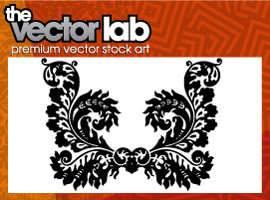 free vector Ornamental Flourish Vector