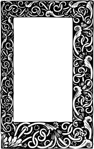 free vector Ornate Frame clip art