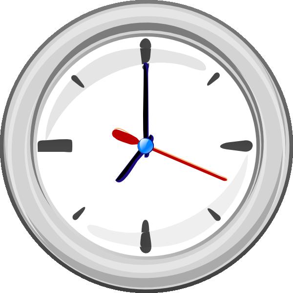 Orologio da parete clip art free vector 4vector for Foto orologio da parete
