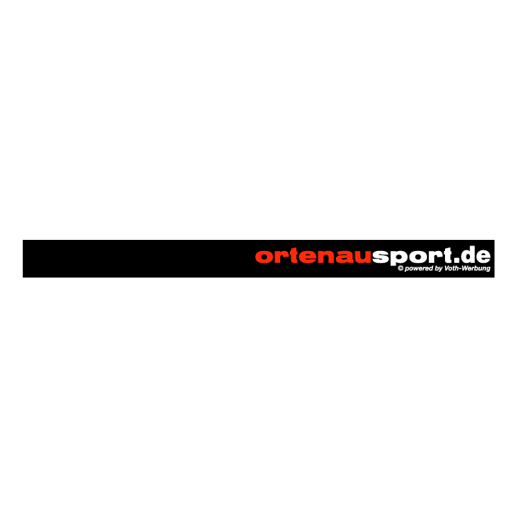 free vector Ortenausport