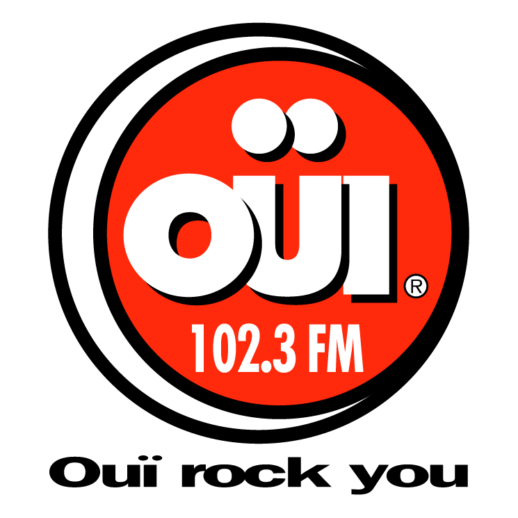 free vector Oui fm