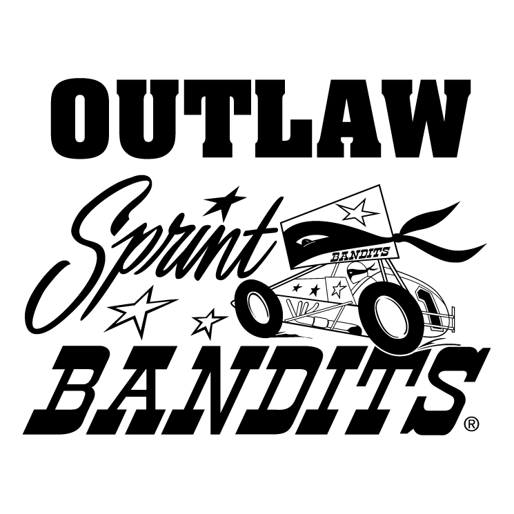 free vector Outlaw sprint bandits