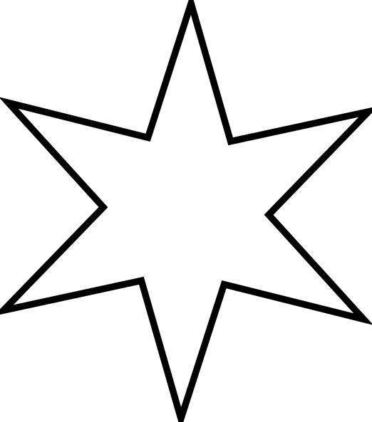 free vector Outline Star clip art