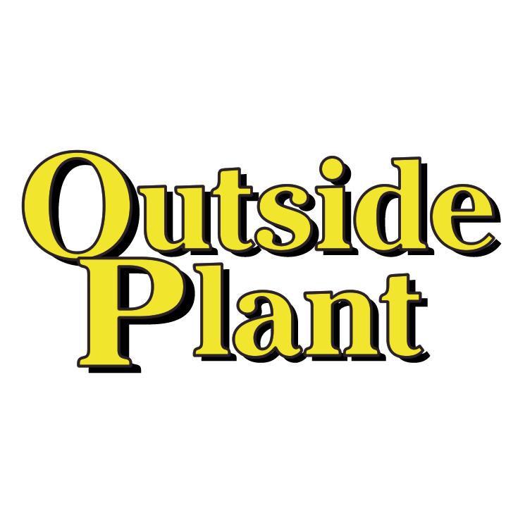 free vector Outside plant
