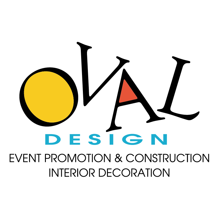 free vector Oval design limited