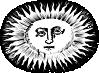 free vector Oval Sun clip art