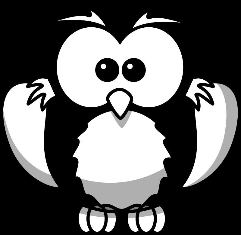 free vector Owl Line Art