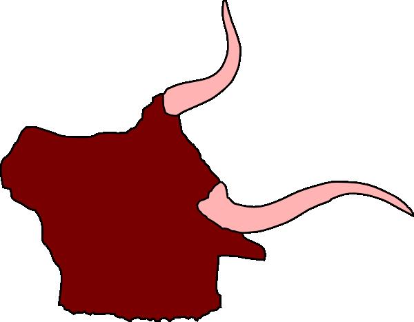 free vector Ox Head With Horns clip art