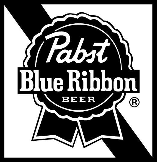 Pabst blue ribbon beer logo