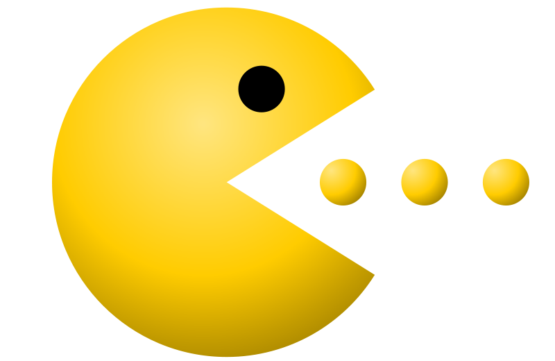 free vector Pac-Man