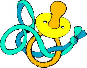 free vector Pacifier clip art