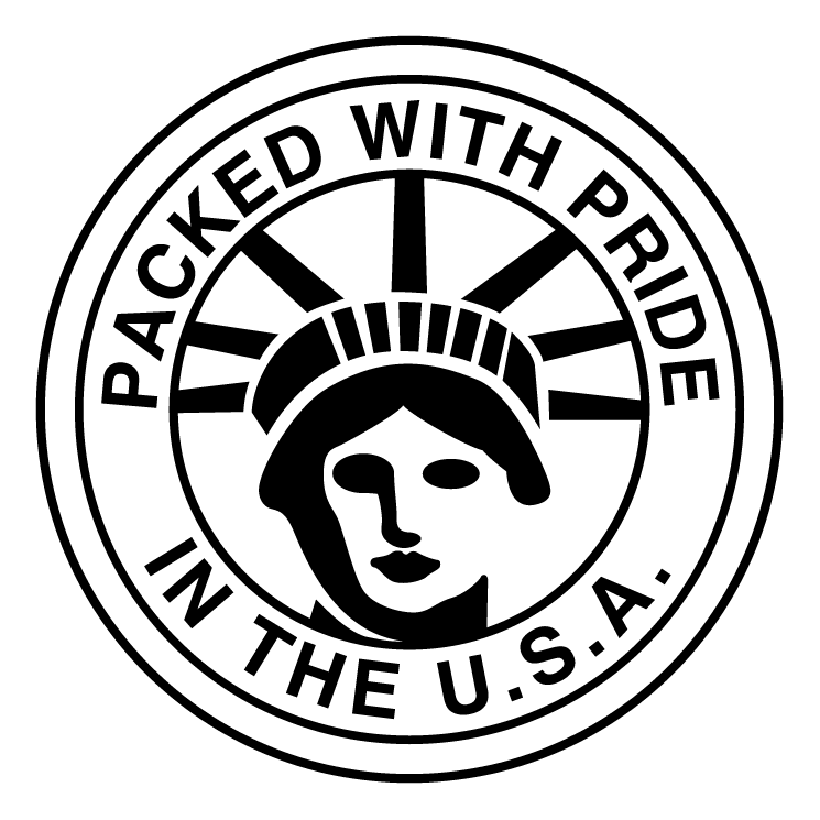 free vector Packed with pride in the usa