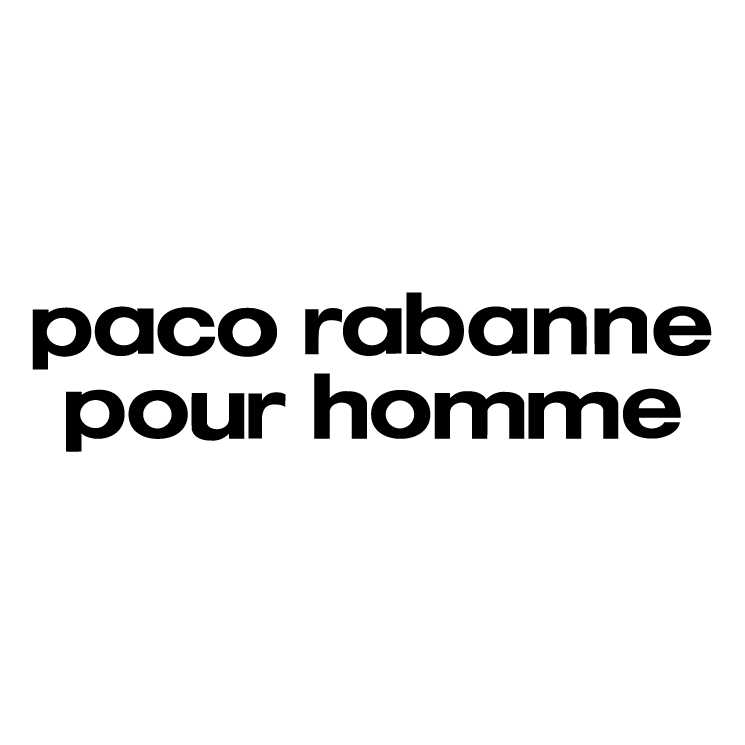 free vector Paco rabanne pour homme