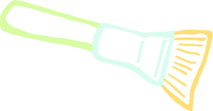 free vector Paint Brush clip art