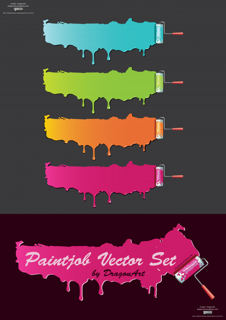 free vector Paintjob Vector