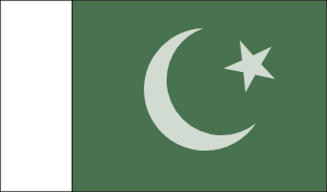 free vector Pakistani Official Flag clip art