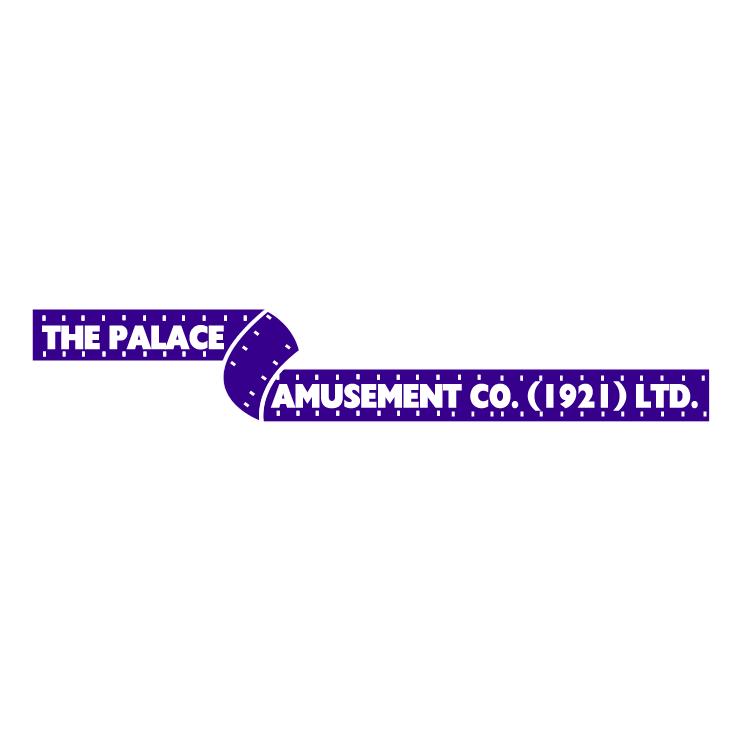 free vector Palace amusement company