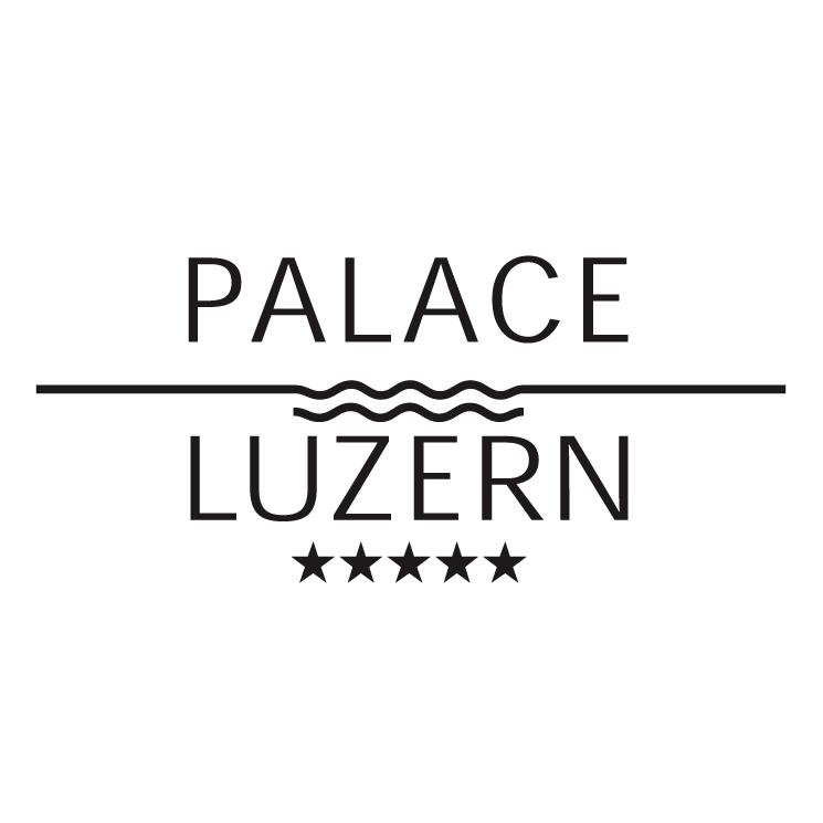 free vector Palace luzern