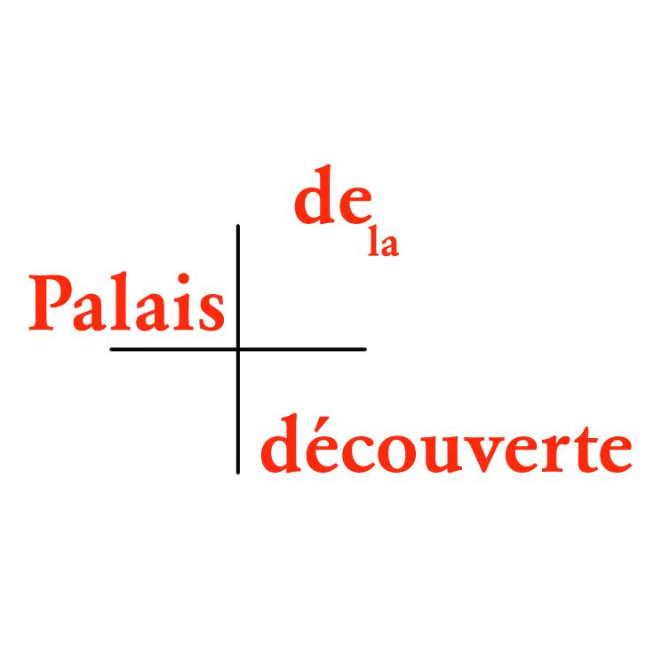 free vector Palais decouverte