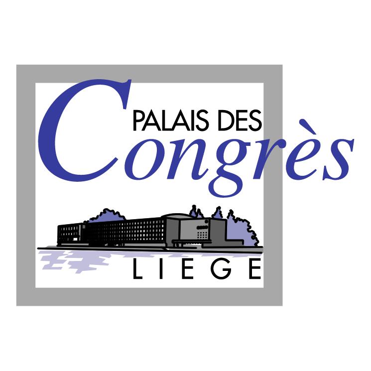 free vector Palais des congres