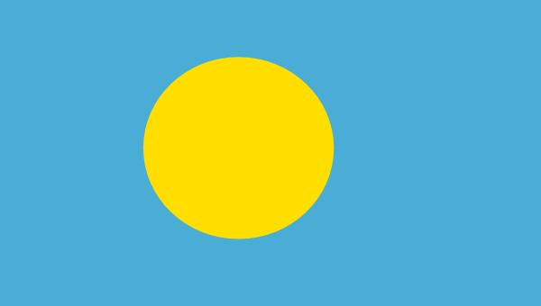 free vector Palau clip art