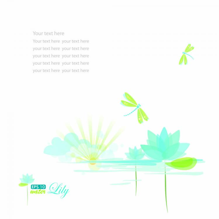 free vector Pale cartoon background 01 vector