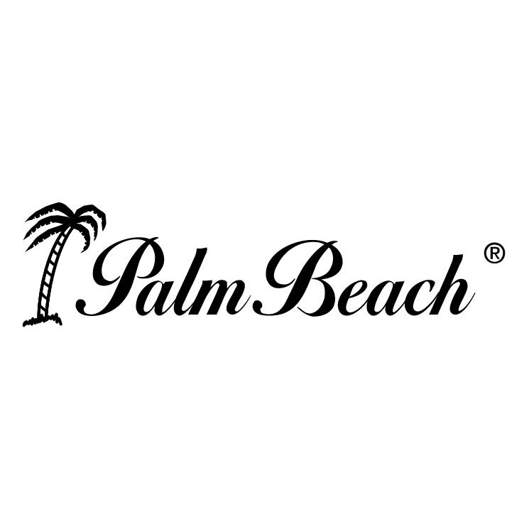 free vector Palm beach