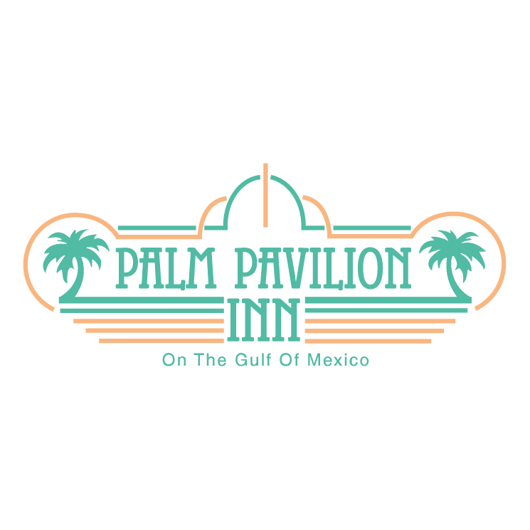 free vector Palm pavilion inn