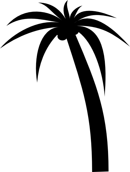 palm tree clip art free vector 4vector rh 4vector com vector palm trees png vector palm trees black and white