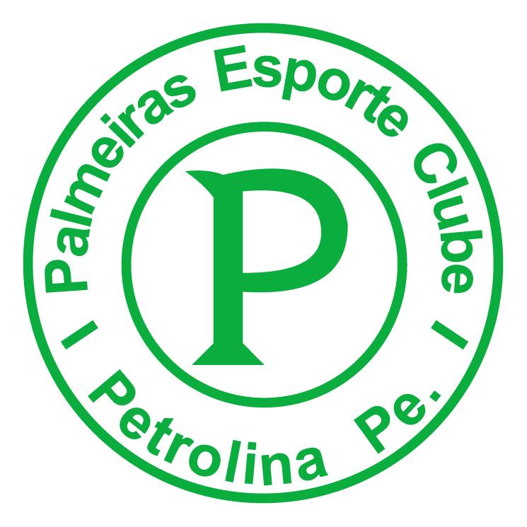 free vector Palmeiras esporte clube de petrolina pe