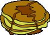 free vector Pan Cakes clip art