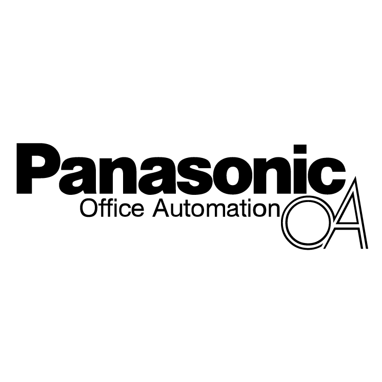 free vector Panasonic office automation