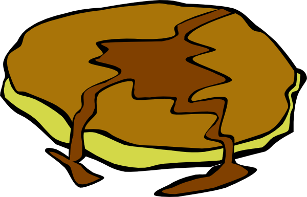 free vector Pancake With Syrup clip art