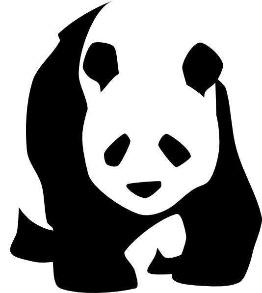 panda clip art free vector 4vector rh 4vector com panda clipart lent panda clipart images