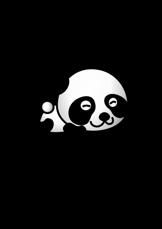 free vector Panda01