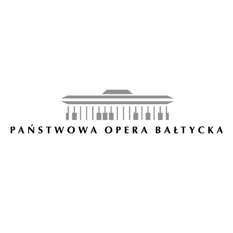 free vector Panstwowa opera baltycka