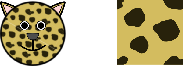 free vector Panther Head clip art