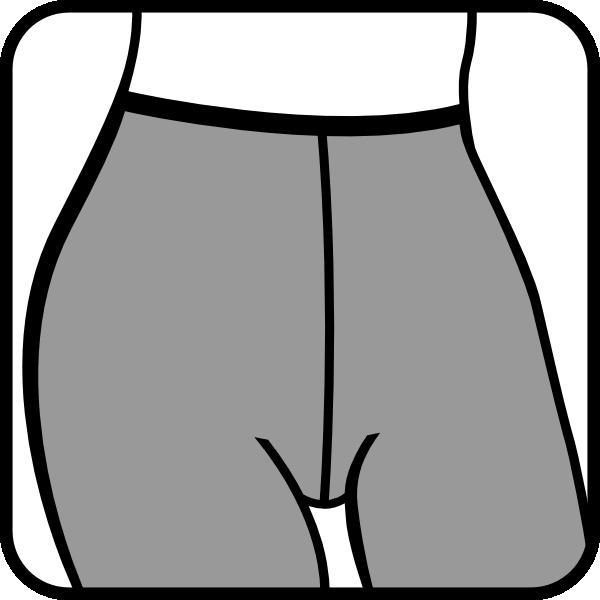 free vector Pantyhose8 clip art