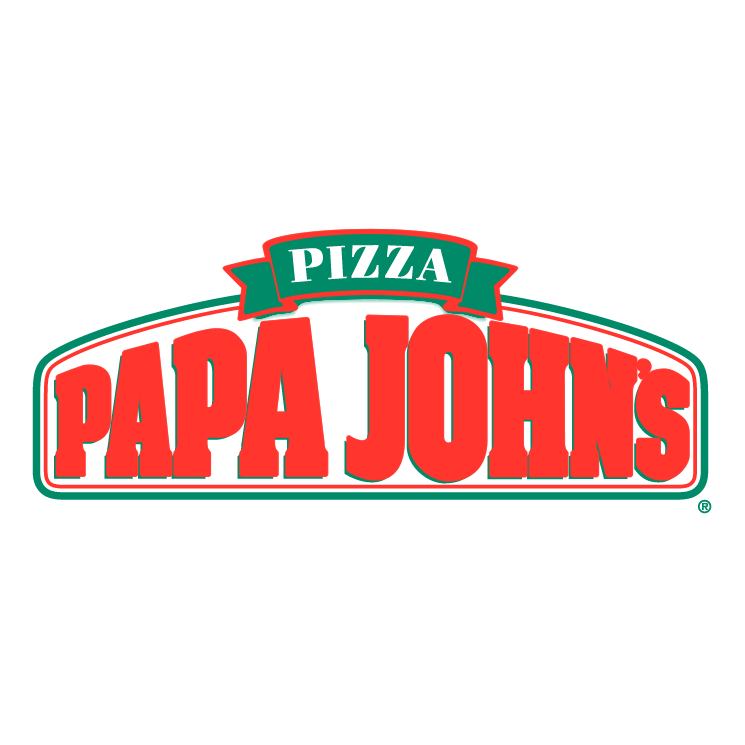 free vector Papa johns pizza 1