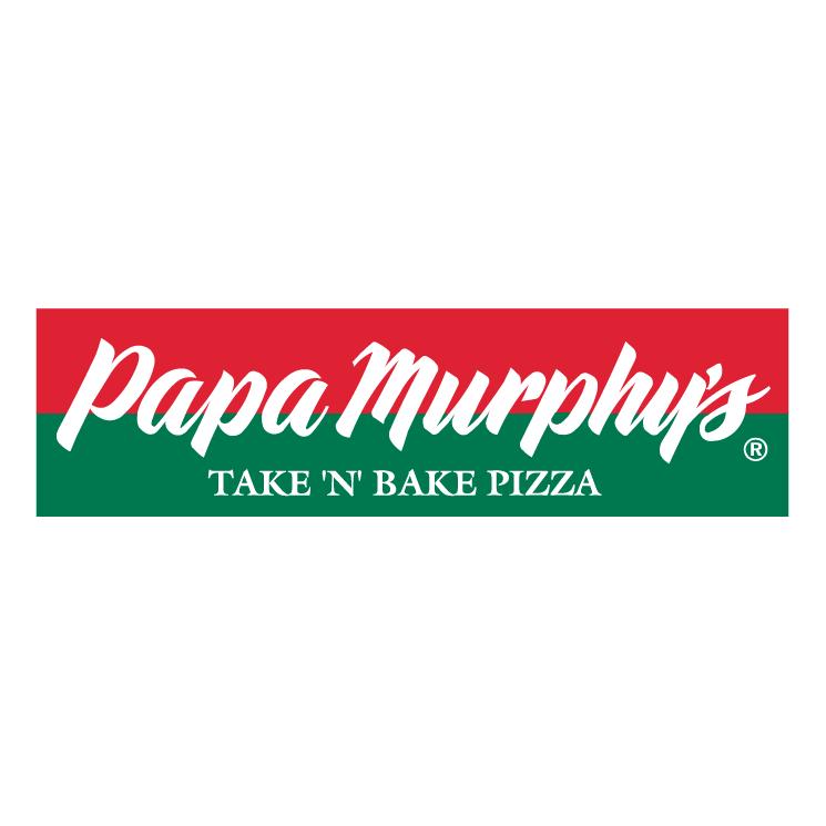 free vector Papa muphys pizza