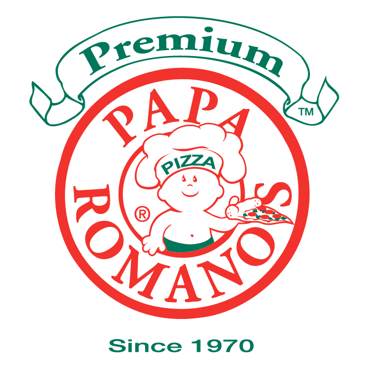 free vector Papa romanos pizza